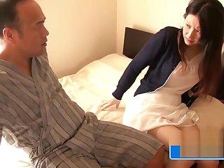 Old Pervert Fucks Hot Asian Teen