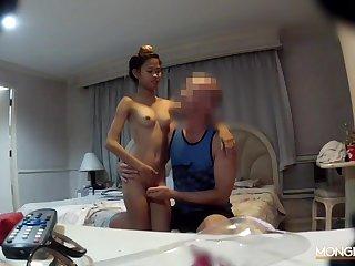 Hidden camera sex video featuring Thai hooker Natasha