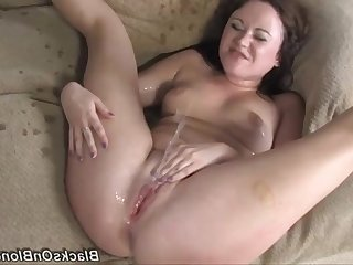Lewd Sindee Jennings incredible interracial video