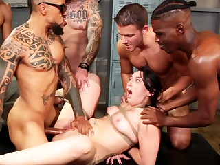 Bound shady enjoys will not hear of very first interracial gang-bang