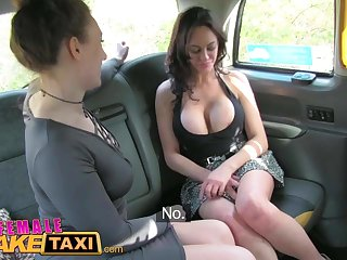 Female Fake Taxi Dating horny busty babe squirtiing
