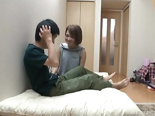 Shiina Sora is very good in many sex games includes titjob and a blowjob