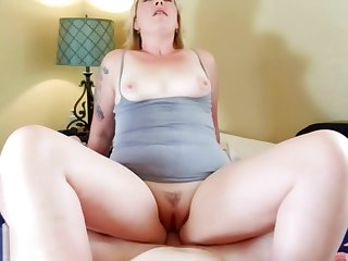 Wife Experience: Pretty Blonde MILF Worships Husband's Cock